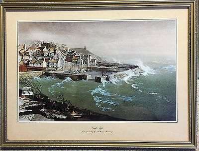 Set Of 4 Framed Prints From Original Watercolours By Anthony Flemming