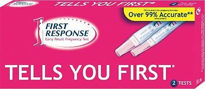 2 First Response 6 Days Early Ultra Sensitive Pregnancy Test Kits Testing Sticks