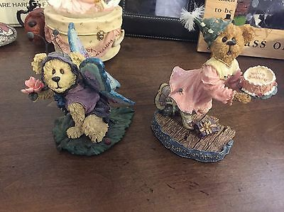 boyds bears figurines    Fairy Bear And Birthday Bear FREE SHIPPING!!!!!