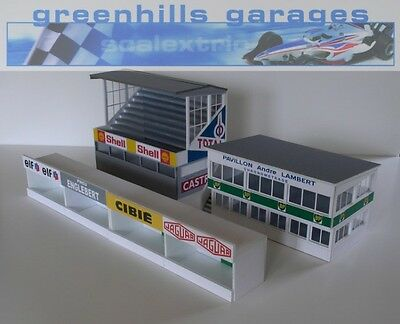 Greenhills Scalextric Slot Car Buildings Reims Starter Pack Kit 1:43 scale - Bra