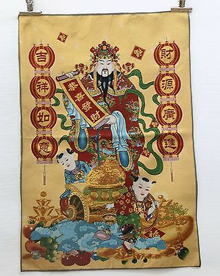 Tibet Collectable Silk Hand Painted Immortal Thangka  gd5625
