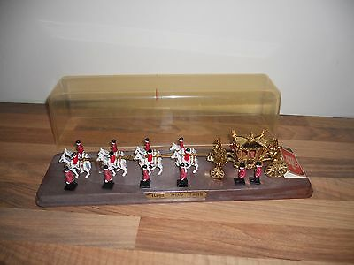 Cased Crescent Toys 1977 Royal State Coach Queen Elizabeth II Silver Jubilee