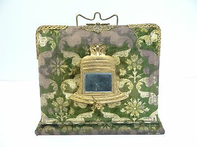 Antique Old Liberty Bell Family Photograph Photo Album Stand Book Inkwell Stand