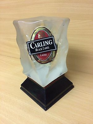 Carling Black Lable Plastic Ice Beer Bar Pump Head UNTESTED Man Cave