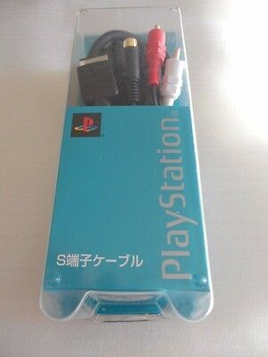 NEW Official Genuine Sony PlayStation PS2 Japan S-Video Cable