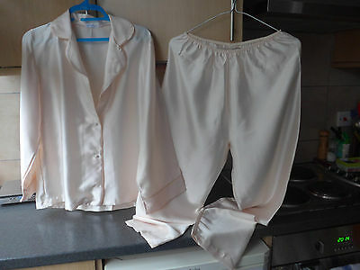 Vintage David Nieper Satin Pyjama 10 Fantastic Condition Unused
