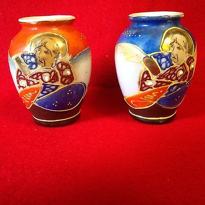 Miniature Vases ~2~ Made in Occupied Japan