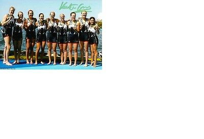 Olympic Silver 2016 at Rio Rowing Katie Greves original signed 10x15 photo.