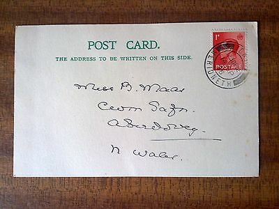 SG 458 Edward VIII FIRST DAY COVER Post Card cv £180 (in 2009).
