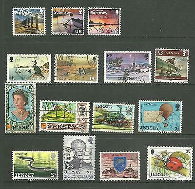 GB: A used selection regional commemoratives