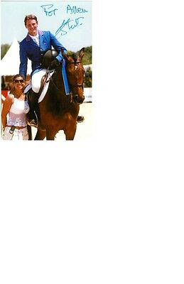Olympic Champion 2016 Rio at Equestrian Kevin Staut original signed 10x15 photo.