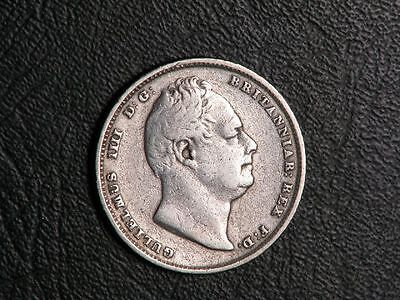 GREAT BRITAIN 1834 6  Pence Silver
