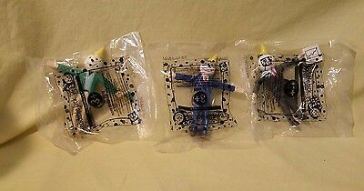 BRAND NEW 1999 - Jack In The Box - Bendable Jack - Lot of 3 - Free shipping