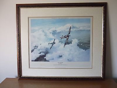 Duel of Eagles by Robert Taylor signed Limited Edition print