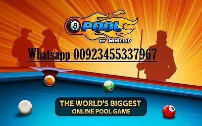 8 Ball pool 10M (ready accounts for Sale) (instant Delivery)