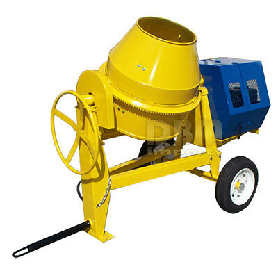9 CU Cubic Concrete Cement Mixer 13HP Electric Gas Gasoline FREE SHIPPING