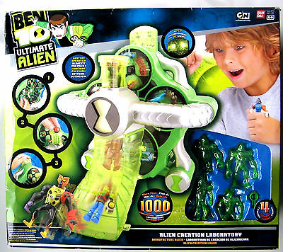 Ben 10 Ultimate Alien Creation Laboratory  (COLLECTABLE out of production) NEW