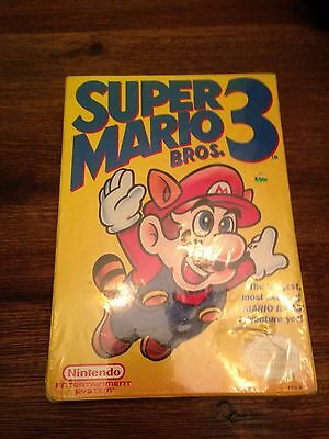 Super Mario Bros 3 NIB Sealed New In Box