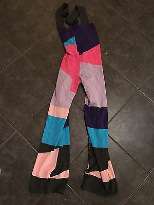 BNWT Attitude Ballet Warm Up Dance Knitted Dungarees  Size Xs