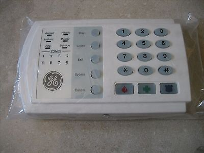 GE NetworX NX-8V2 LED keypad-NEW, never used, part of kit, out of box