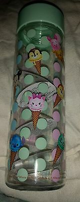 SALE! Authentic Disney Parks Collectibles Tsum Tsum Water Bottle Cup Ice Cream