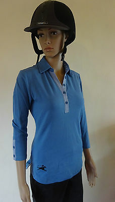 New ** Tottie Agnes ** Ladies Polo Top Horse Riding Shirt Ladies Size 10 Small