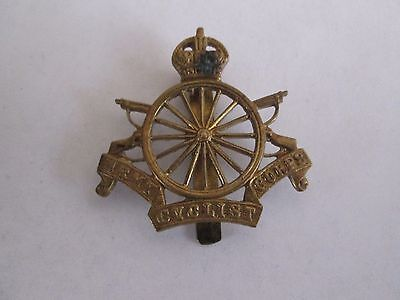 WWI KC British Army Cyclist Corps Badge with 16 Spokes