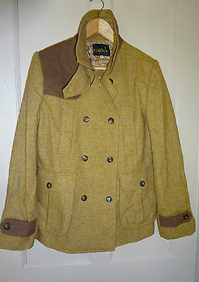 New One Off Caldene Tweed Size 14 Smart 100 % Wool Jacket Shooting Hunting Horse
