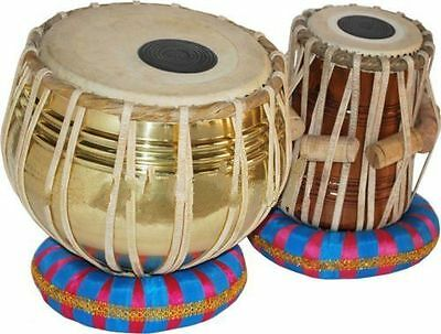 Tabla Drum Set-Designer_Brass 2.5 Kg:Bayan-Sheesham Dayan- Dorpmarket