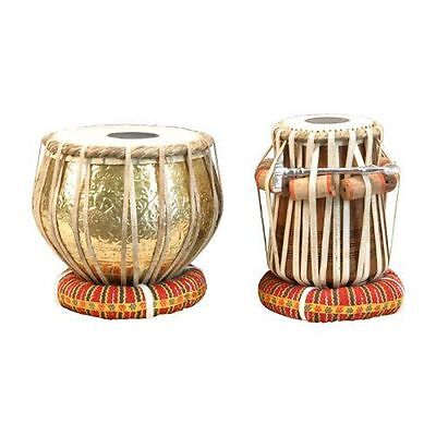 Have one to sell? Sell now Details about  Top-grade Embossed Brass Indian Tabla