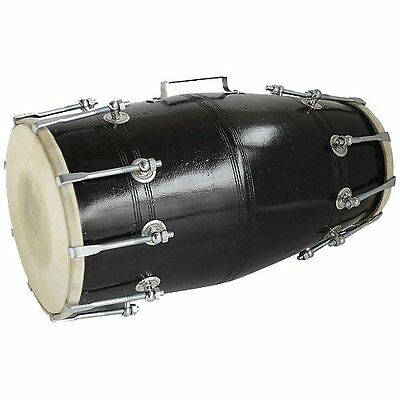 Dorpmarket Black Color Musical Dholak (Nut Bolt)
