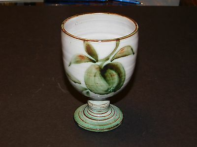 Briglin Studio Pottery Apple Pattern Goblet