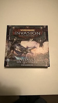 Warhammer invasion assault on ulthuan expansion Super rare! Out of Print!