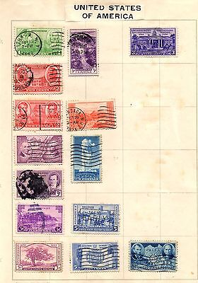 Old Stamps from USA, 1930's
