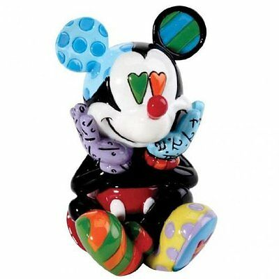 Walt Disney miniature Mickey Mouse Romero Britto mini figurine NIB 4026292