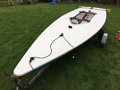 Laser 1 Sailing Dinghy 133375 With Combi Road Trailer ** REDUCED**