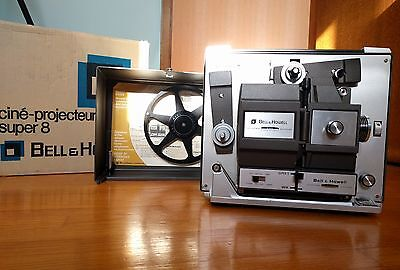 Bell & Howell Super 8 Movie Projector Immaculate Condition 1968