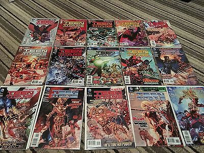 DC Comics New 52 Teen Titans Full Set 1-30 With Variants