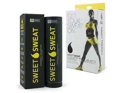 Sports Research SWEET SWEAT 6.4oz STICK & WAIST TRIMMER COMBO