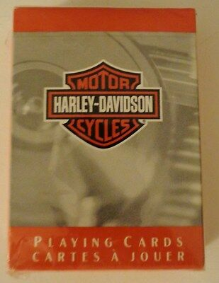 New Harley Davidson Playing Cards Bar & Shield Deck New Sealed Pack Motor Cycle