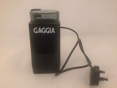 Gaggia Electric Coffee Grinder. 100 Watt Great Item