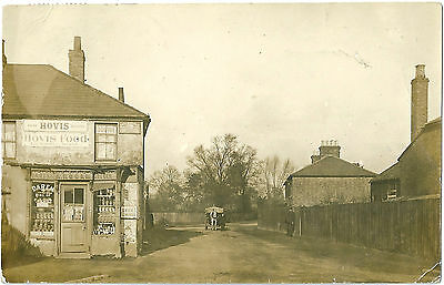 Cranford Middlesex. Shop Of A. Moore Baker & Grocer. Real Photographic Postcard