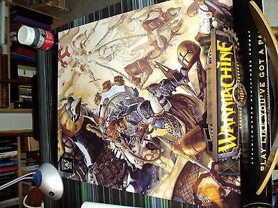 3 Warmachine and Hordes Posters, Rare, OOP