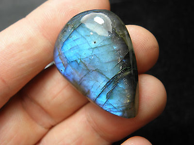 Natural Flashy Spectrolite Labradorite Polished Cab! Wire Wrapping ! 63,40Cts!