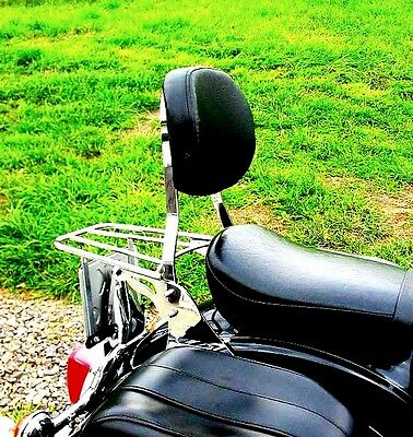 Sissy Bar Passenger Backrest+Luggage Rack Yamaha Xvs 1100 Dragstar (V-Star 1100