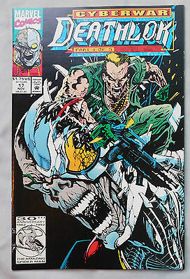 Deathlok #17 (Nov 1992, Marvel)