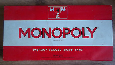 Vintage Waddington  Monoploy