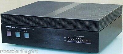 Yamaha M-4 2 Channel Power Amplifier with Original Box