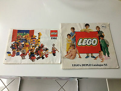 Vintage Lego Brochure from the '80's
