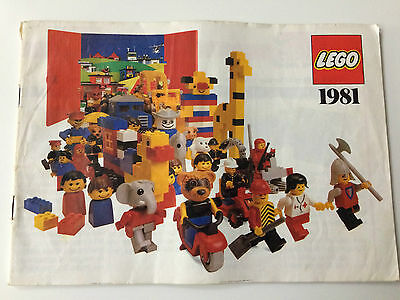 Vintage Lego Brochure from the '80's one brochure
